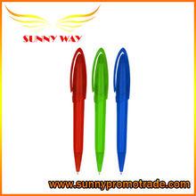 custom logo plastic ballpoint pen for promotion