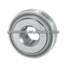 "206KPP3 1"" hexagonal bore bearing with triple lipped seal ball bearing"