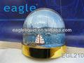 acrílico3d moldura bola de neve foto snow cúpula