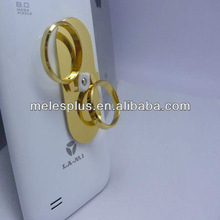 2013 new design mini metal holder for iphone meles new design best price customers logo touch pen