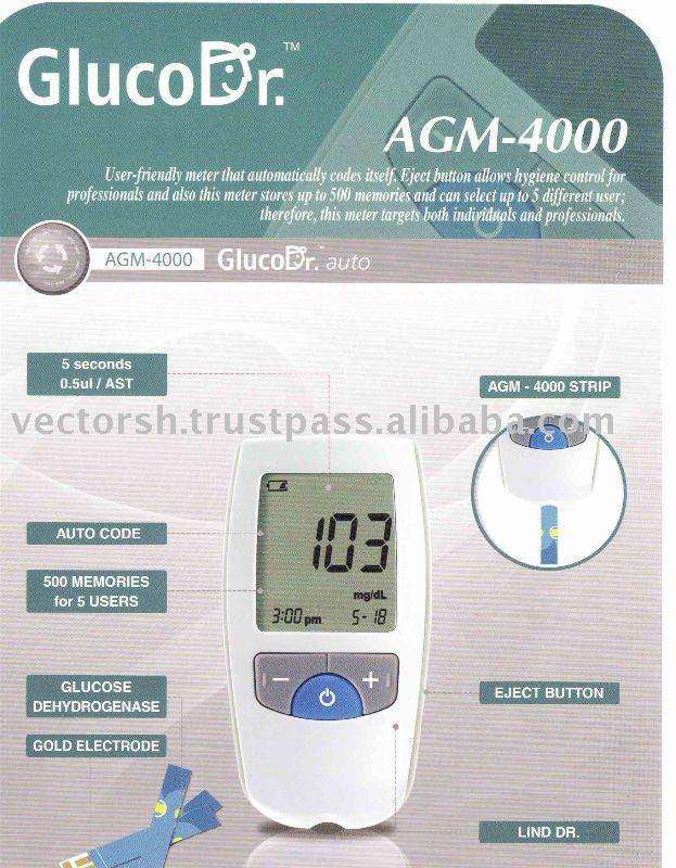 GlucoDr Auto test meter