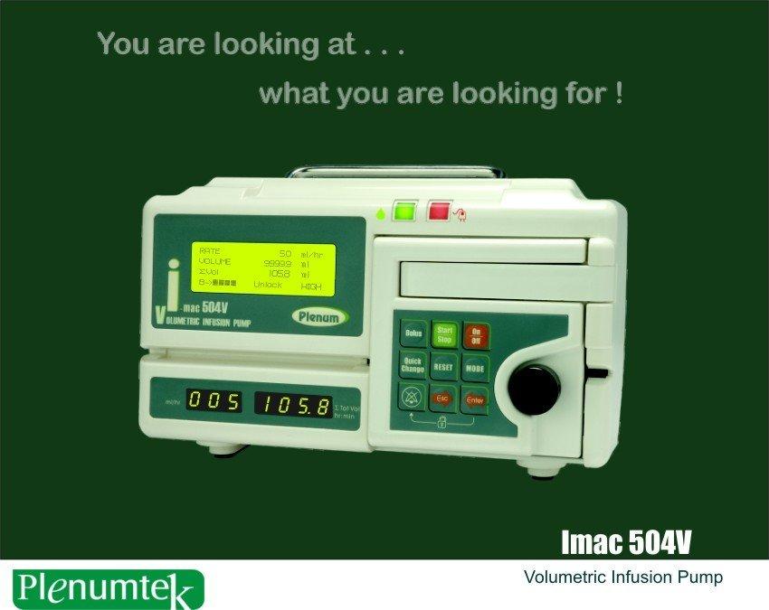 Volumétrica de la bomba de infusión