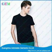 mens plain black t shirts with high quality