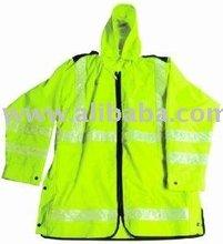 Hi-vis raincoat