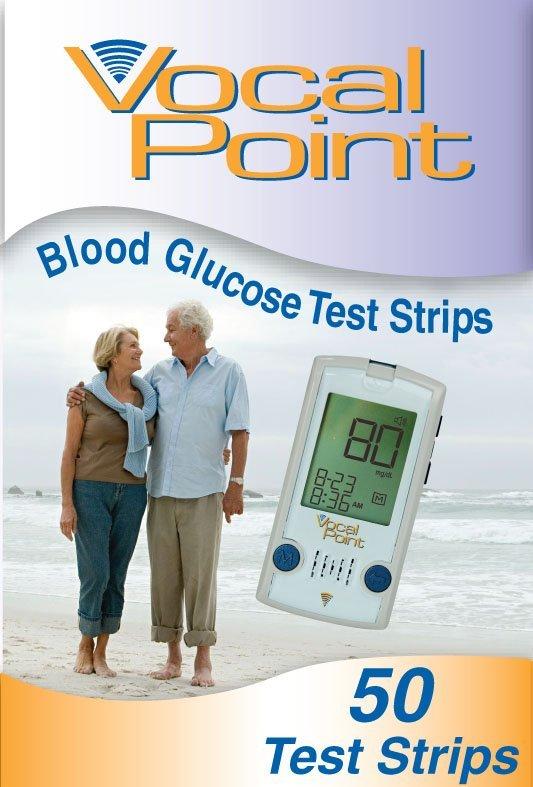 VocalPoint Blood Glucose Test Strips