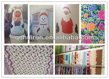 Qingdao Huirun pp spunbond nonwoven 2.2m width snowman printed plant jacket