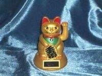 Solar Powered Lucky Cat