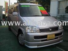 2000 Used HONDA STEPWGN Deluxie /Wagon/RHD japan car