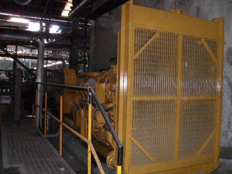 Oruga 3512 grupo electrógeno DIESEL