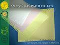 ورقة غير الكربونية أجزاء 2 3-- طبقة قبل-- المطبوعة 241mm*280mm أشكال الفاتورة