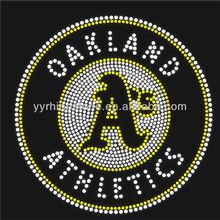 Oakland Athletics A's Wholesale Rhinestone Transfers Designs