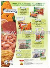 Multi choice of Process halal food,frozen halal food