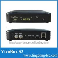 vivo box s3 Original nagra 3 SKS PK lexuzbox f38 digital cable receiver