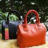 2013 New cow leather fashion pure orange handbag