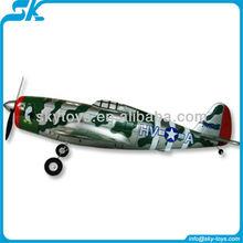 Lanyu 2.4G 4CH P-47 Thunderbolt EPO TW 748-3 rc giant scale plane