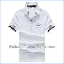 custom high quality blank polo club t shirts cotton pocket club polo t shirts design
