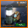 Handy Carry Portable Solar LED Emergency Lantern with Mobile Charger