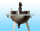 steam heating jacketed cooking pots