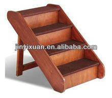 wooden pet dog stairs/pet ramp/pet gate