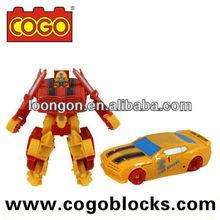 COGO Plastic Car Transform Robot Toy