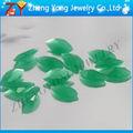 Marquise forma de piedra de jade verde color