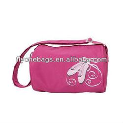 Pink sports dance duffel bags