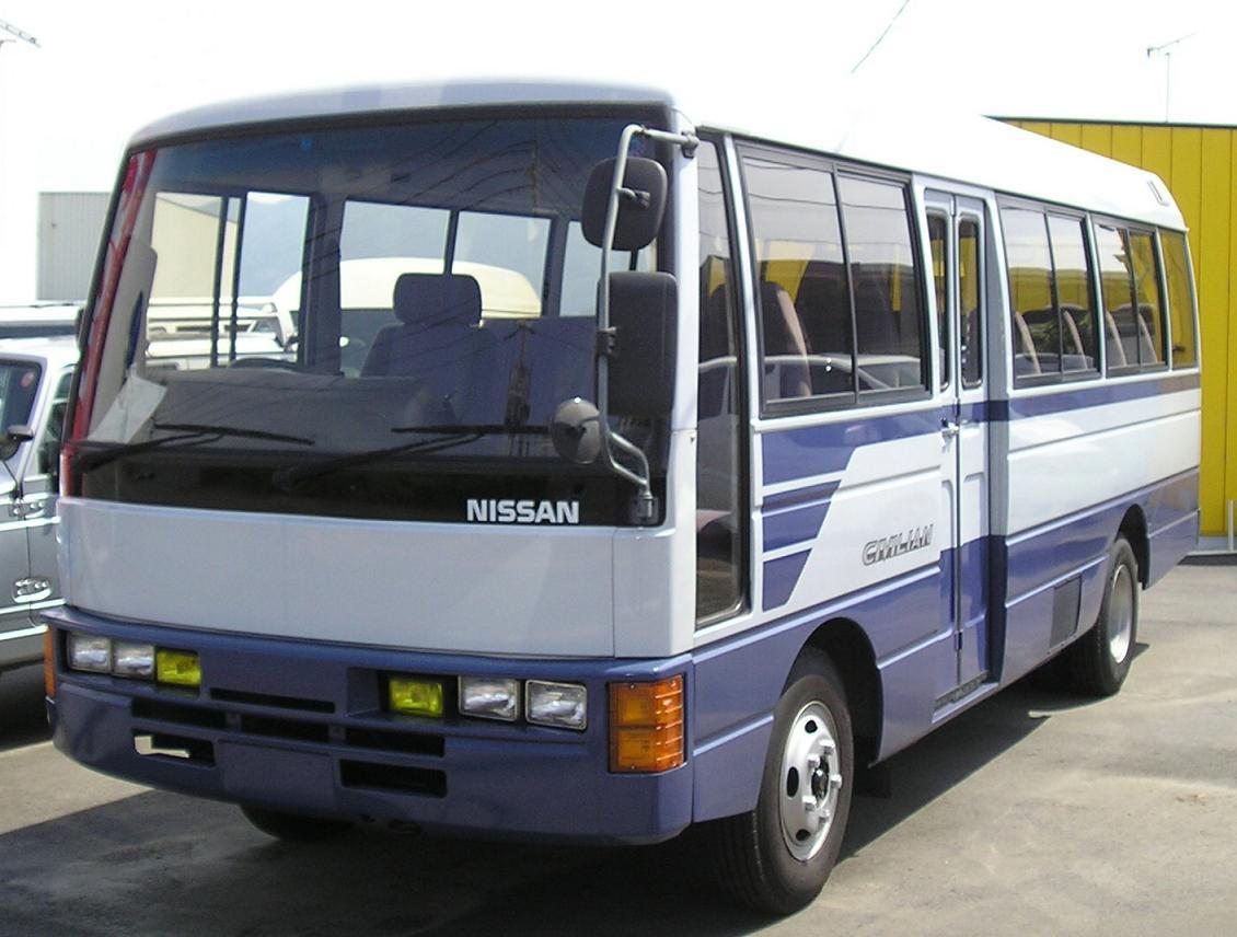 Batang mobile nissan bus