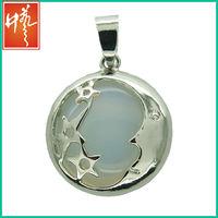 New coin jewelry factory pendant jewelry making sideways cross