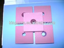 High temperature resistant alumina ceramic tile