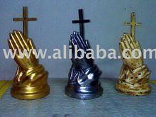 Resin craft Praying hands
