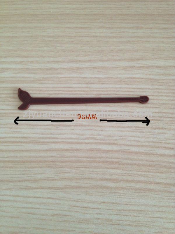 eco-friendly plastic stir stick for coffee