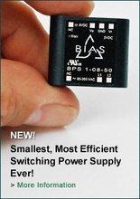 0.5 to 2 watt Ultra Compact PCB mount AC/DC switch mode power supplies