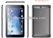 "4GB/8GB memory Dual-core Dual-camera Dual-Sim-card 7"" Mini tablet pc"