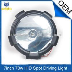 4x4 off road hid fog driving light,55w 75w 9'' 24v hid car light,atv heavy truck hid working light