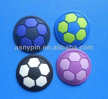 soft pvc football fridge magnets