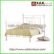 2013 Double Queen size Design modern home platform Metal bed