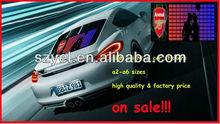 Sale!!! Light Up Equalizer Custom Design el/led car sticker