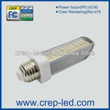 Convenient and durable 6.5w led bulb plug light