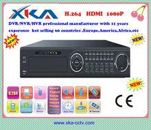 DVR/NVR/HVR professional manufacturer 16CH standalone HDMI 1080p nvr recorders