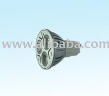 Dimmer GU10 LED Spotlight 3*1W