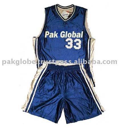 los uniformes del baloncesto