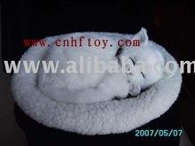 Life-Like Fur Animals, Lifelike Sleeping Pet