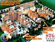 Hotel Condominium Beach resort Property Tropical Paradise Vacation Hotspot Shops Mall Water Theme Park