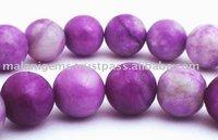 Sugilite Plain round Beads
