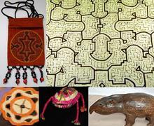 Peruvian Amazon crafts