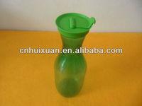 Plastic custom printing glass flower vase for decorative