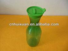 Plástico impressão personalizada flor vaso de vidro para decoração
