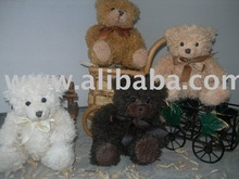 Scented wax dipped teddy bears Toys