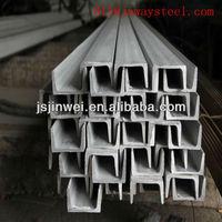 stainless steel u-channel size (Grade 201 202 304 316 321 310)