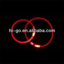 Hot Sale LED TPR Dog Collar Cooler than Leather Dog Collar